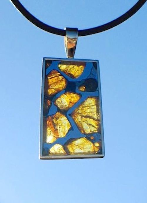 Pallasite Necklace