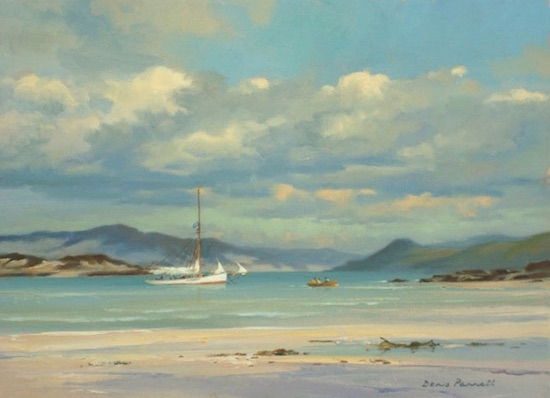 "Seascape painting ""Off the Western Isles"""