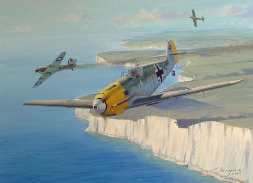 Original Battle of Britain Aviation Painting