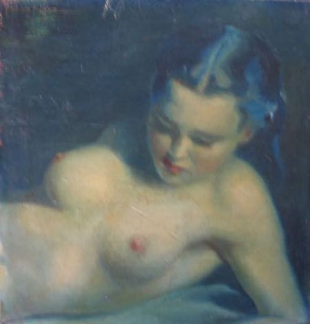 Deco nude Painting