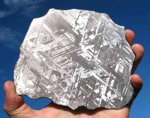 Henbury Meteorite Widmanstatten modèle
